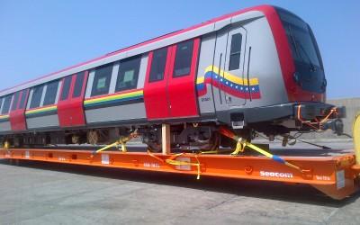 Llegaron dos nuevos trenes Metrópolis procedentes de Francia