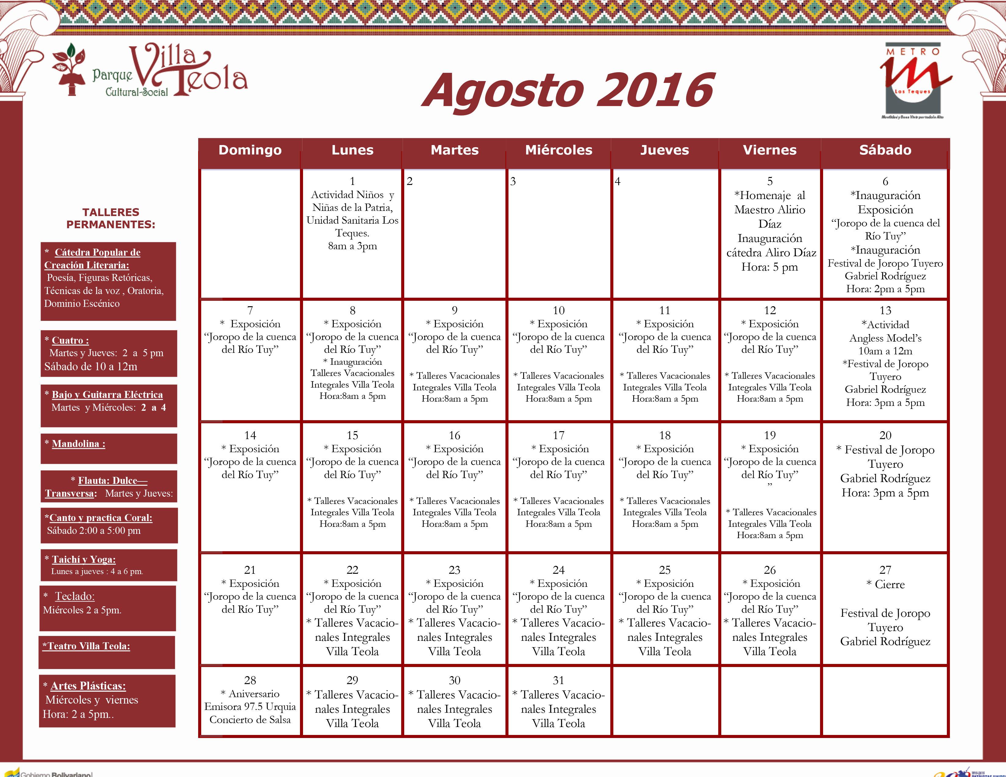 GRILLA agosto 2016.