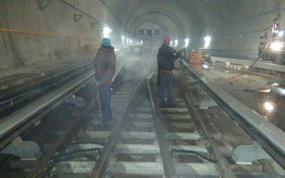 Realizamos mantenimiento en más de 11 Km de vías férreas