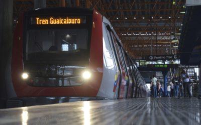 Tren Guaicaipuro reinició operación comercial este lunes