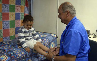 120 niños y niñas recibieron atención ortopédica en Metro Los Teques