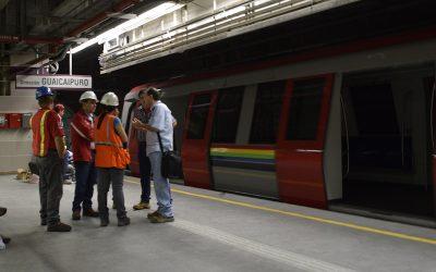 Culminaron trabajos en estaciones Independencia y Guaicaipuro