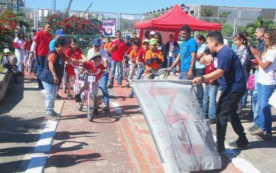 20 bicicletas disponibles en Ciclovía del Jardín Terapéutico Bicentenario