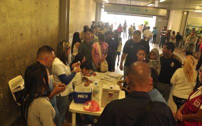Metro Los Teques realizó más de 30 jornadas médicas en primer trimestre del año