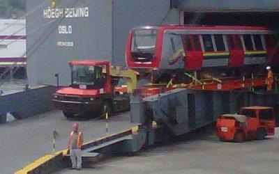 Llega a  La Guaira vigésimo primer tren Guaicaipuro para nuestra flota