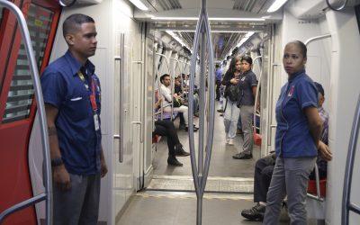 Operativo de seguridad también se extendió en Metro
