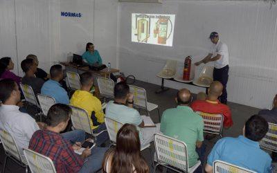 Trabajadores  recibieron talleres de formación