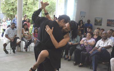 Tarde de tango engalanó anfiteatro de Villa Teola