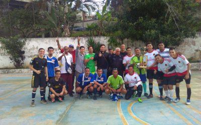 Nuestro equipo quedó campeón en Torneo de fútbol comunitario