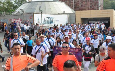 Exitoso rally – caminata por 19 aniversario de Metro Los Teques