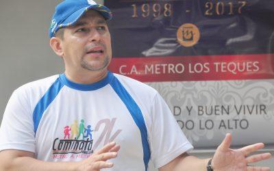 Farith Fraija entrega riendas del Metro Los Teques gal alcalde Garcés
