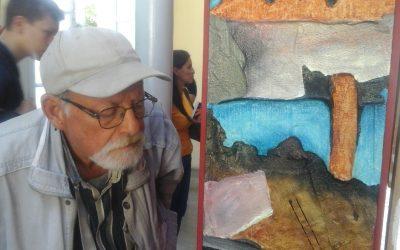 Obras de Jesús Leon fueron expuestas para la venta en Villa Teola