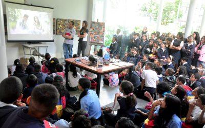 Más de 100 chamos aprendieron en Villa Teola sobre el cine en Venezuela