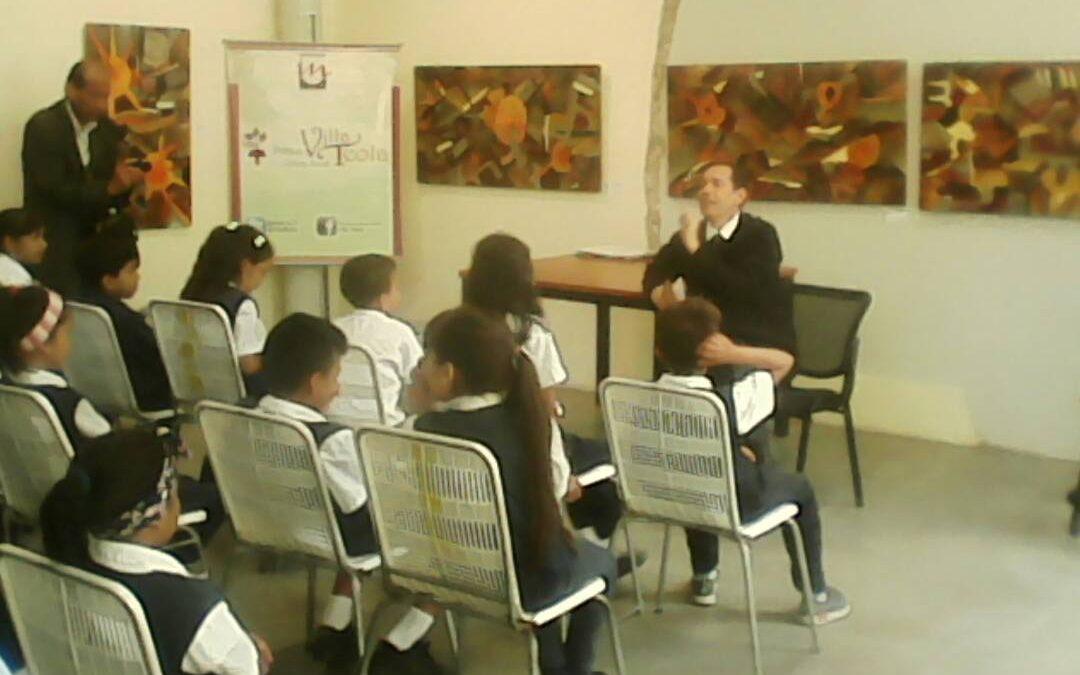Niños de la Sifontes escucharon relatos de la vida de Don Cecilio Acosta en Villa Teola