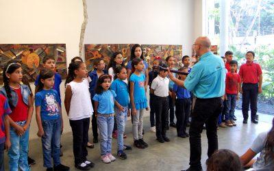 Chamos de la coral infantil de Carrizal cerraron aniversario del núcleo de Orquestas