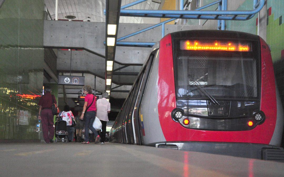 Restituyen 100% de operatividad del sistema Metro Los Teques