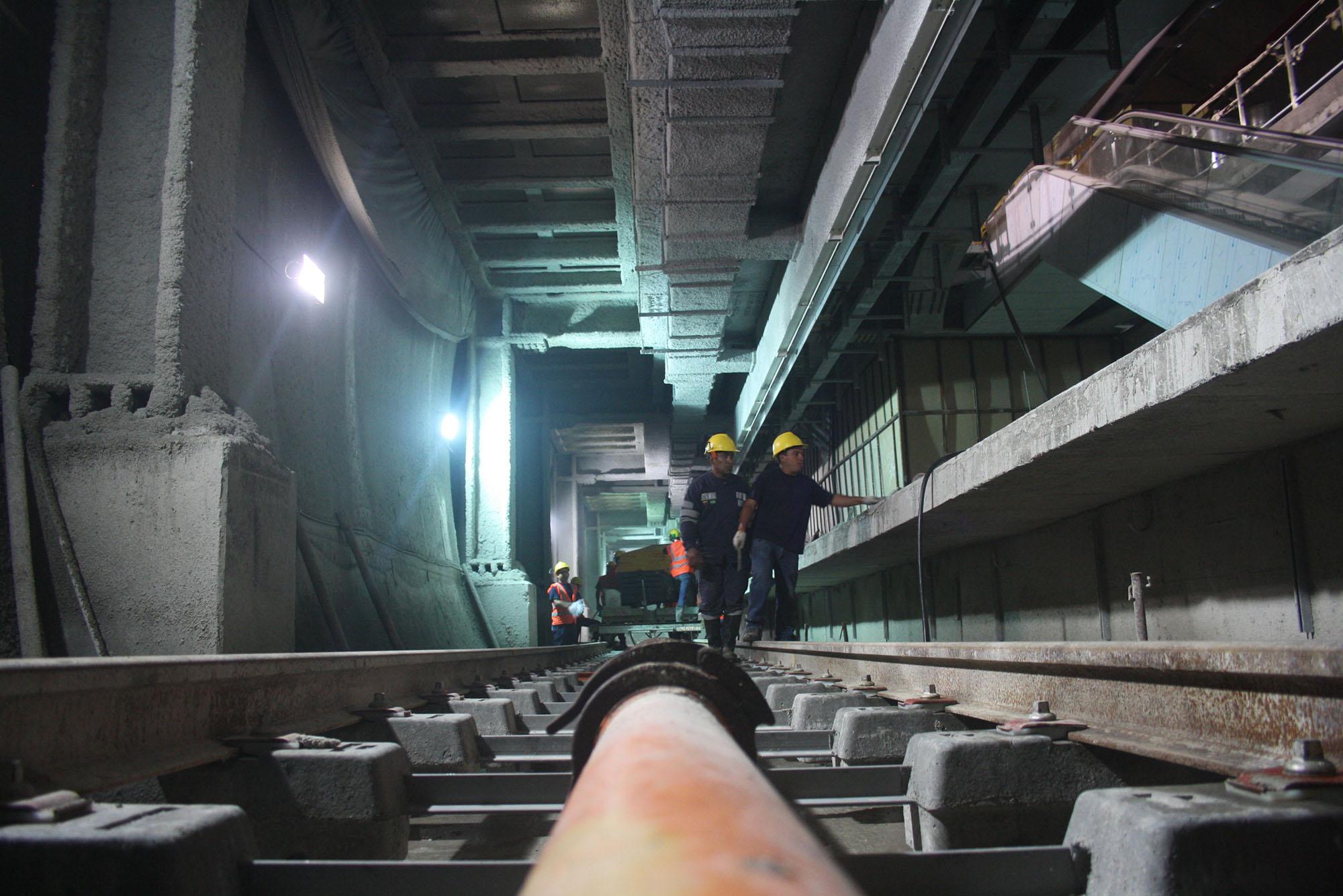 Realizan mantenimiento especial de Metro Los Teques durante asueto de Semana Santa