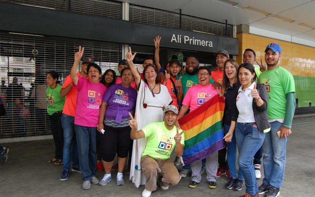 Caravana de la Esperanza del Movimiento Somos Venezuela recorrió el Metro Los Teques
