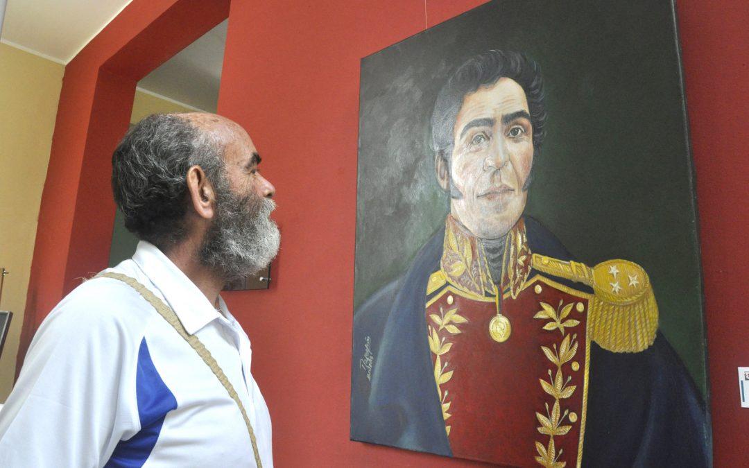 Exposición Bolívar-Chávez tomó espacios del Villa Teola