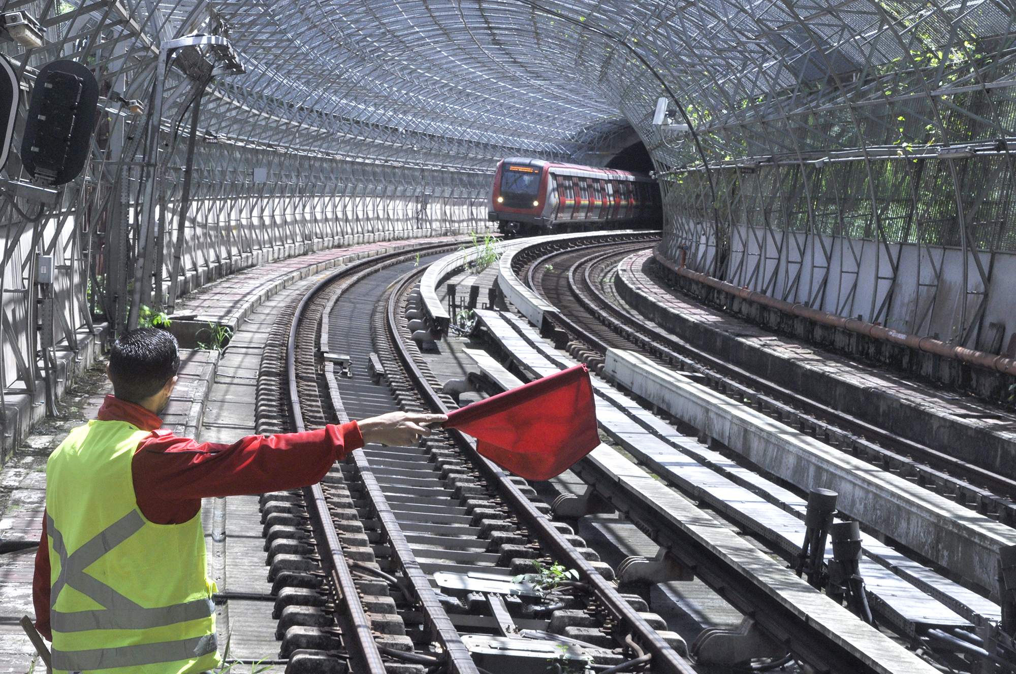 Metro Los Teques inicia trabajos de mantenimiento de Alto Impacto este fin de semana