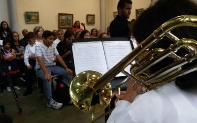 Orquesta infantil hizo vibrar a Villa Teola