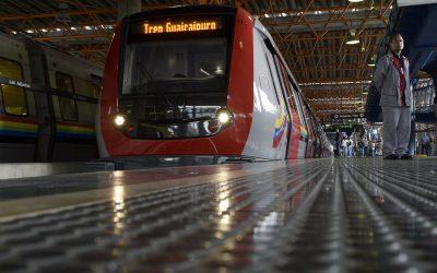 Servicio especial Tren Guaicaipuro brinda confort a sus usuarios