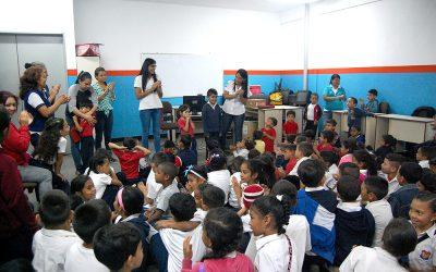 El programa Educando sobre rieles atenderá a más de 300 niños durante esta primera semana