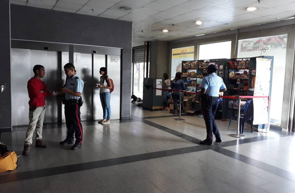 Aumenta presencia policial dentro de las instalaciones del Metro Los Teques