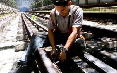 Acondicionaron vías férreas de Metro Los Teques