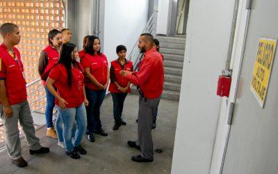 Entrenantes de Metro Los Teques inician prácticas
