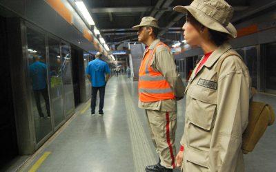 Milicia Bolivariana presta seguridad en Metro Los Teques