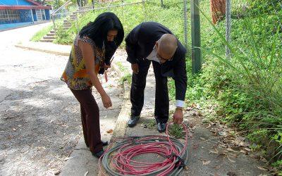 Recuperaron más de 400 metros de cable sustraídos pertenecientes a Metro Los Teques
