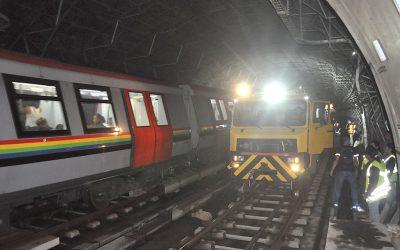 Metro Los Teques realiza mantenimiento mayor en las vías