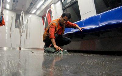 Aplican Plan Cayapa en trenes Metropolis