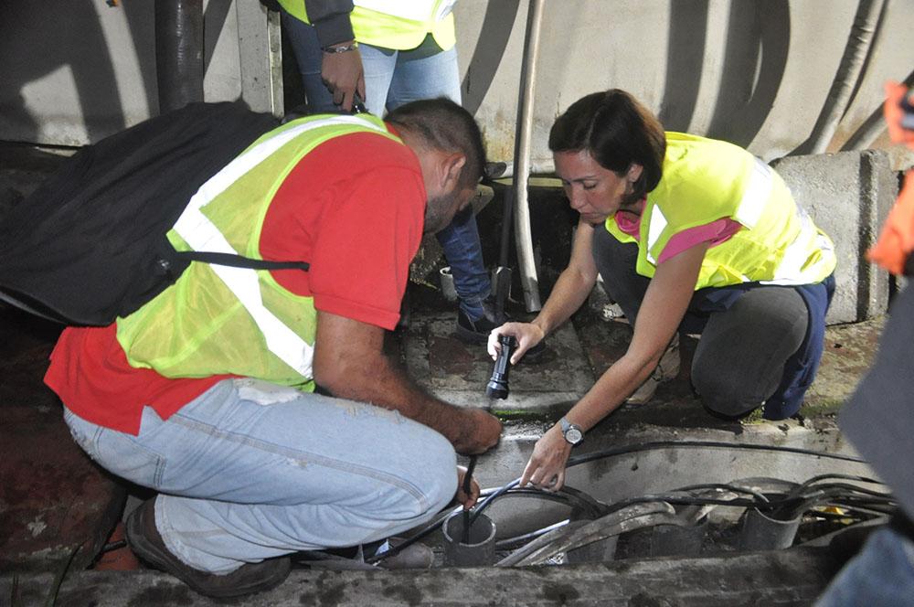 Personal profesional venezolano realizó mantenimientos de cuarto nivel en Metro Los Teques