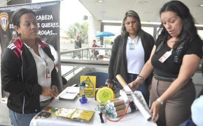 CICPC instruyó a trabajadores y usuarios de Metro Los Teques sobre delitos informáticos
