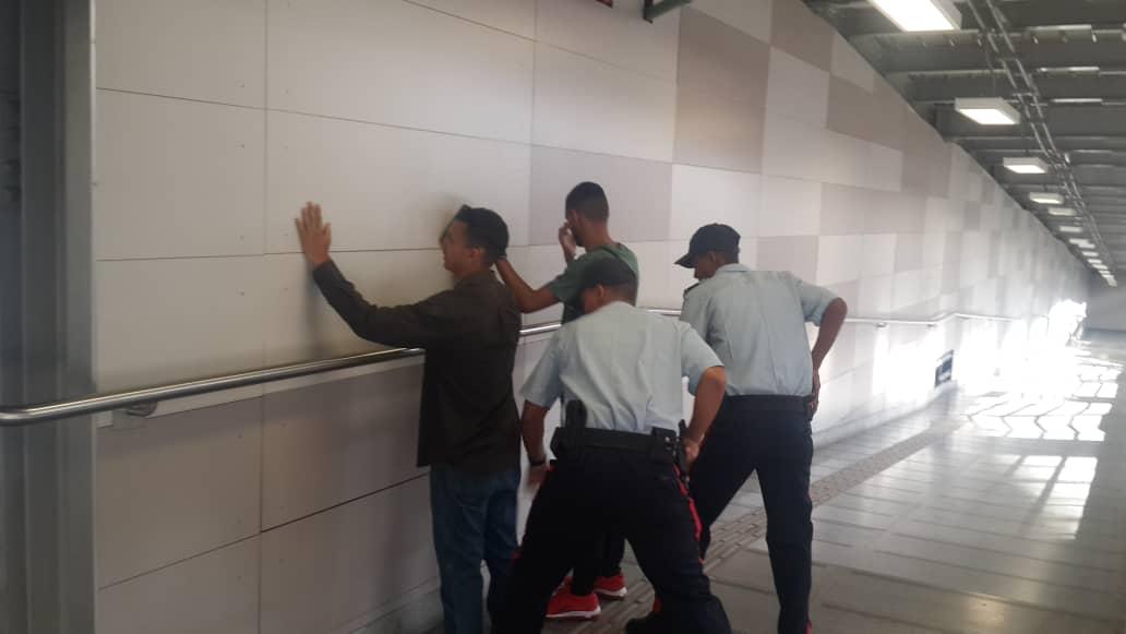 Patrimoniales y PoliMiranda activos en Plan de Seguridad Permanente en Metro Los Teques