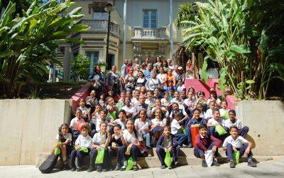 Ganadores  del concurso «Así Veo Mi Estación» recibieron una beca para participar en el taller permanente de Dibujo de Villa Teola