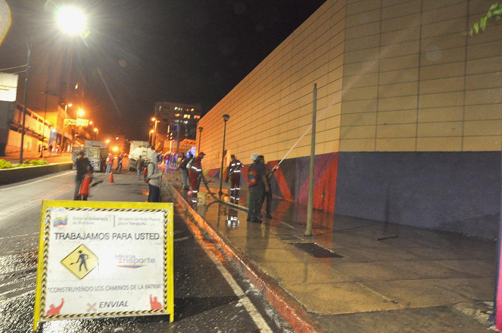 Estación Independencia de Metro Los Teques recibe mantenimiento profundo