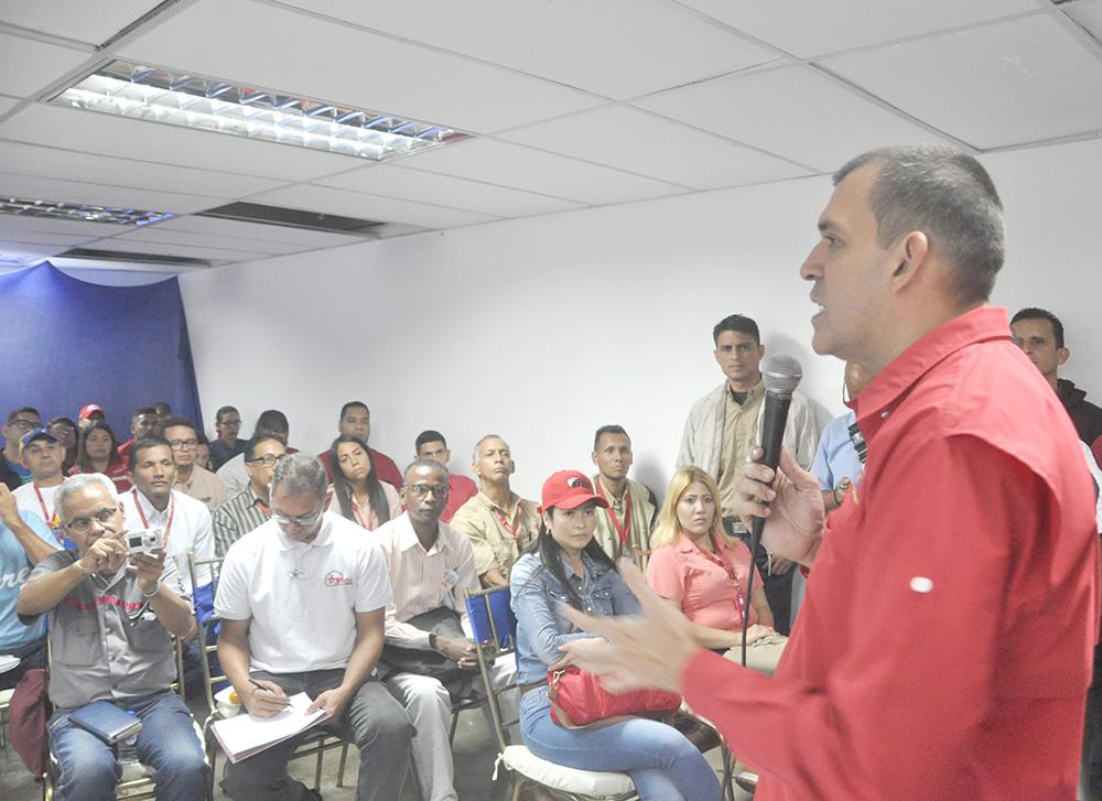 Trabajadores de Metro Los Teques participaron en 1er Encuentro Ferroviario