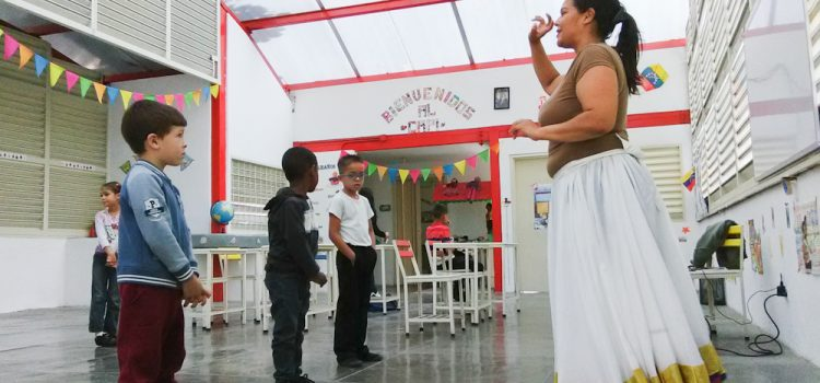 Niños del CAPI Belén San Juan de Metro Los Teques bailaron al ritmo del Calipso