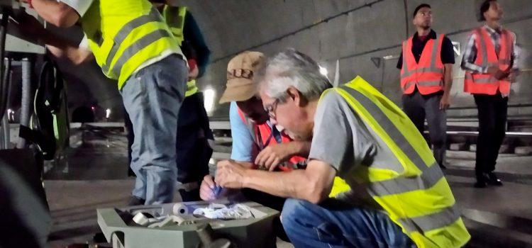 Metro Los Teques realizó mantenimiento a cambia vías de estación Independencia