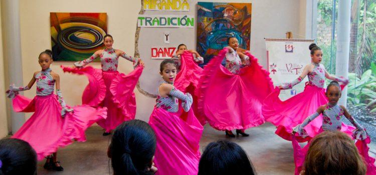 Realizado en Villa Teola Más de 80 niñas participaron en el 4to Festival Miranda: Danza y Tradición