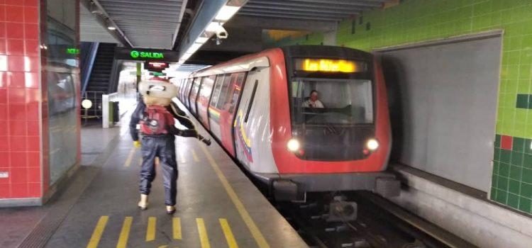 Metro Los Teques desinfecta sus espacios contra el Covid 19