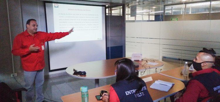 Cursos de Inspectores y Supervisores de Metro Los Teques finalizan la fase teórica