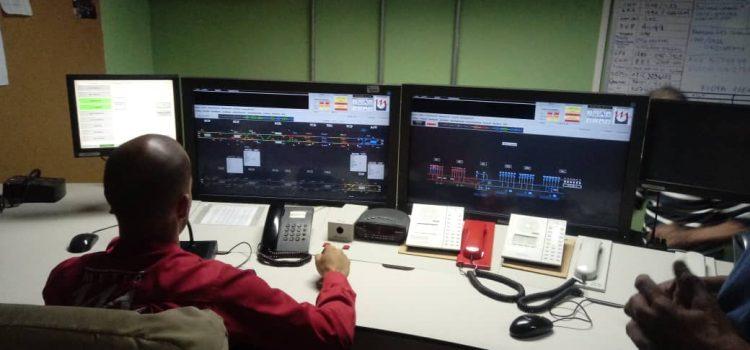 Instalan Consola de Mando Centralizado en el CCO de Metro Los Teques