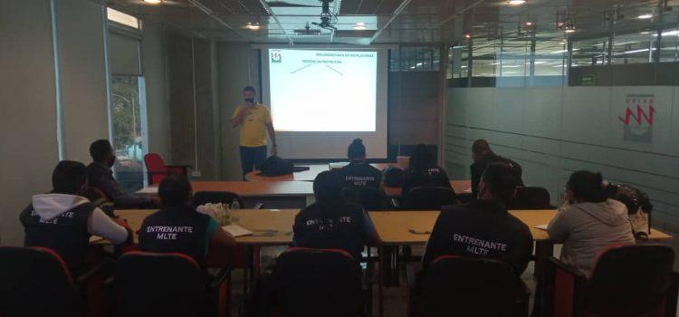 Realizan segundo curso de vigilantes en Metro Los Teques
