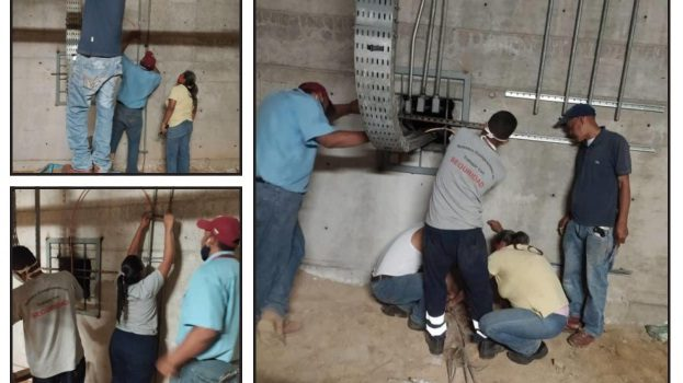 Rehabilitan sistema de protección de la subestación eléctrica El Tambor en Metro Los Teques